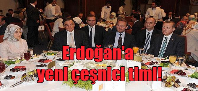 Erdoğan'a yeni çeşnici timi!