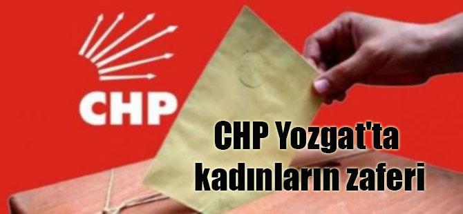 CHP Yozgat'ta kadınların zaferi