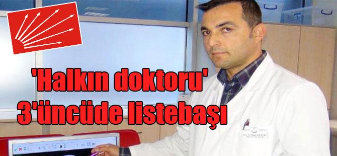 'Halkın doktoru' 3'üncüde listebaşı