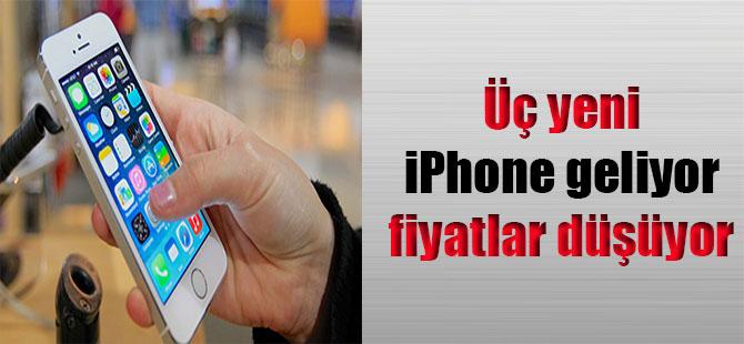 Üç yeni iPhone geliyor fiyatlar düşüyor