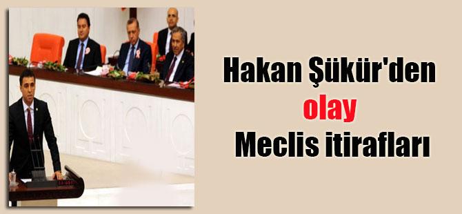 Hakan Şükür'den olay Meclis itirafları
