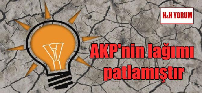 AKP'nin lağımı patlamıştır