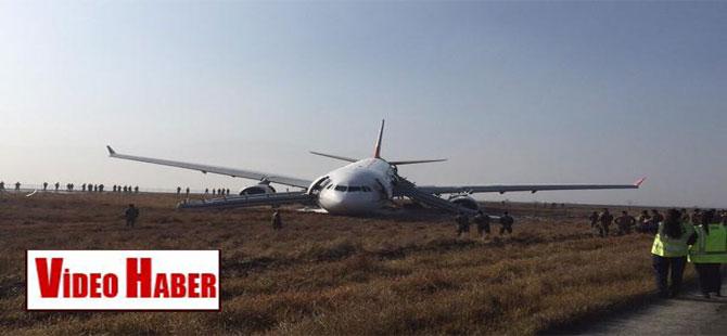THY uçağından ilk görüntüler