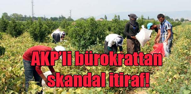 AKP'li bürokrattan skandal itiraf!