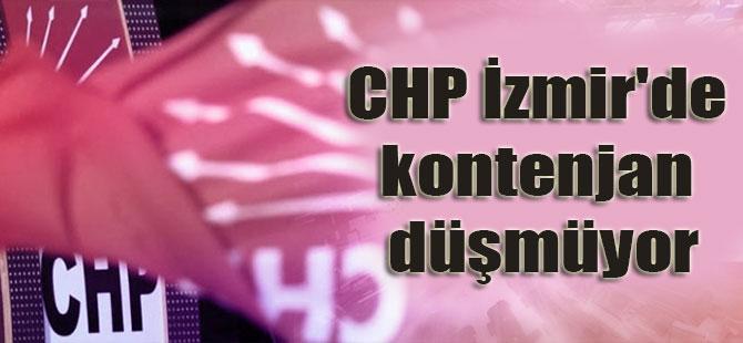 CHP İzmir'de kontenjan düşmüyor