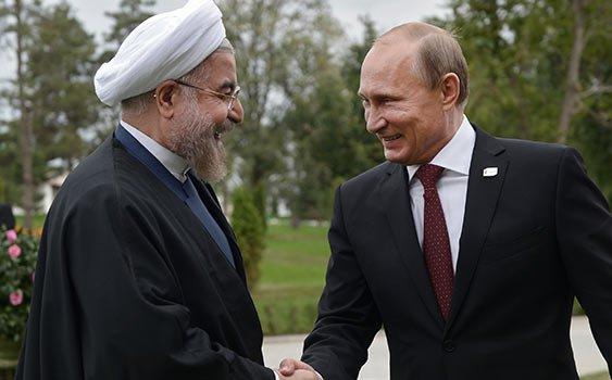 Ruhani ve Putin'den sert tepki