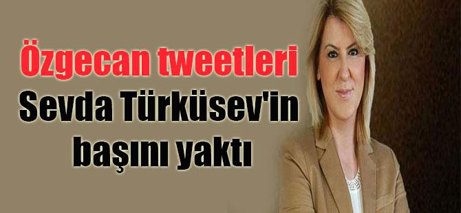 Özgecan tweetleri Sevda Türküsev'in başını yaktı