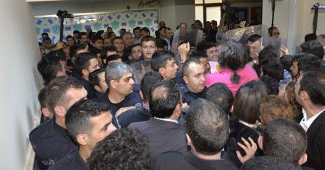 Adana Adliyesi'nde arama gerginliği