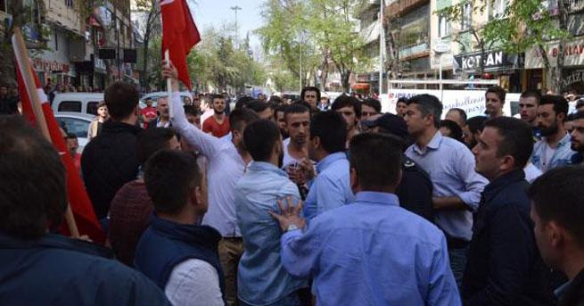 HDP'nin lokal açılışında gerginlik
