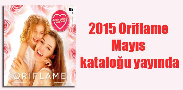 2015 Oriflame Mayıs kataloğu yayında