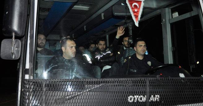 'O' 17 polis Silivri Cezaevi'nde