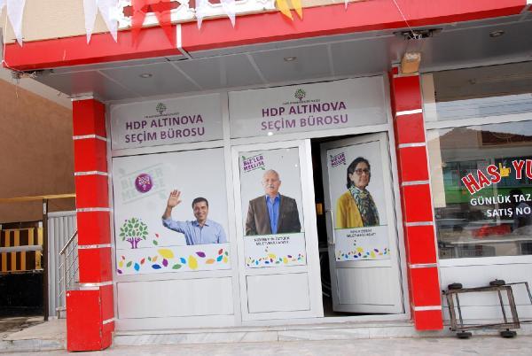 HDP seçim bürosuna silahlı saldırı