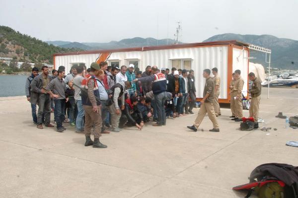 Anamur'da 288 kaçak yakalandı