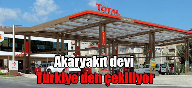 Akaryakıt devi Türkiye'den çekiliyor
