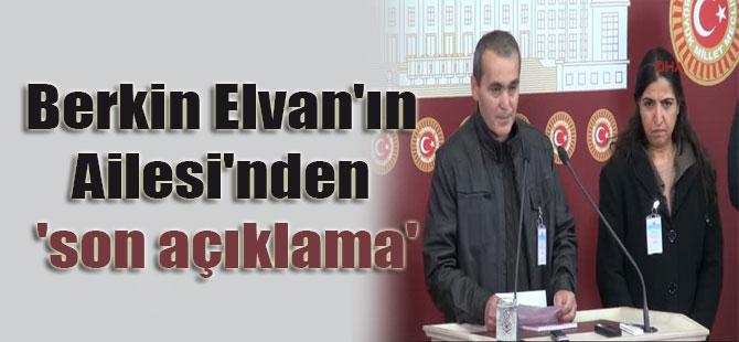Berkin Elvan'ın Ailesi'nden 'son açıklama'