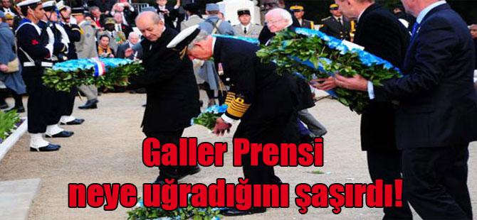 Galler Prensi neye uğradığını şaşırdı!