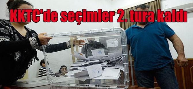 KKTC'de seçimler 2. tura kaldı