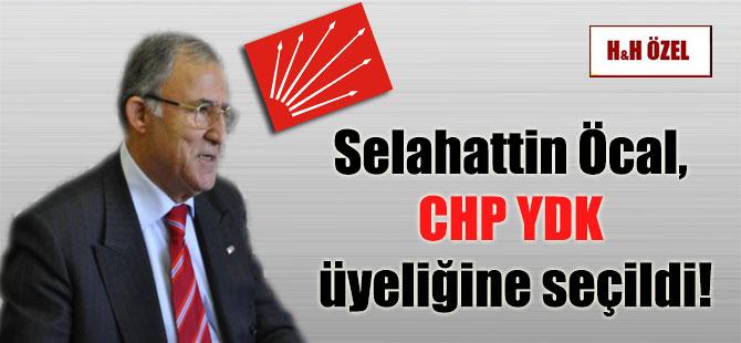 Selahattin Öcal, CHP YDK üyeliğine seçildi!