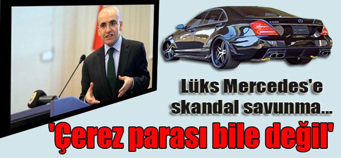 Lüks Mercedes'e skandal savunma… 'Çerez parası bile değil'