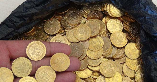Sahte altını piyasaya süren Suriyeli yakalandı