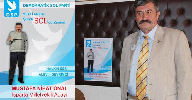 Rakı kadehli seçim afişi istifa getirdi