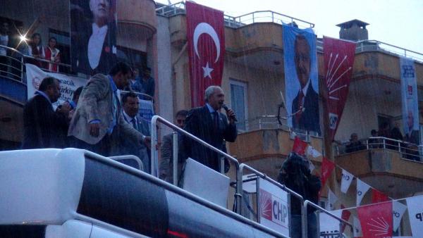Kılıçdaroğlu sağanak altında halka seslendi