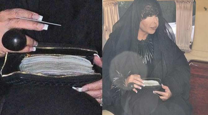 Ünlü şarkıcının cüzdanı herkesi şoke etti