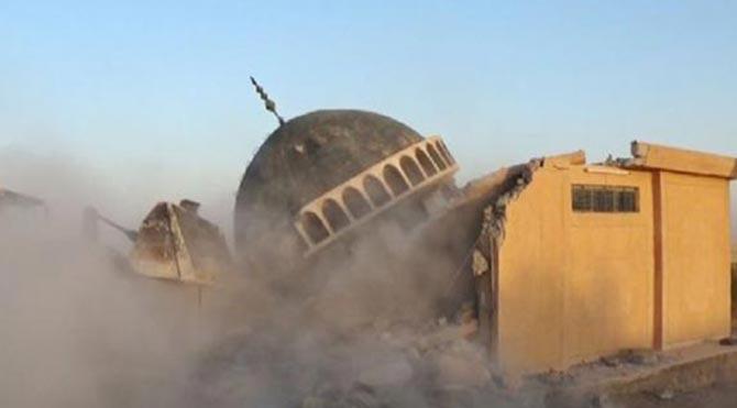 Şii camiine bombalı saldırı