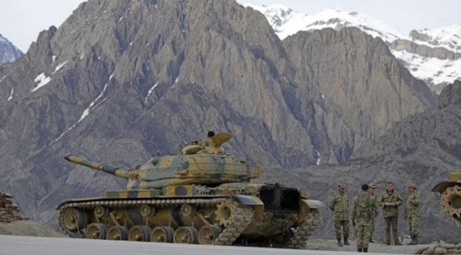Dağlıca'da askeri üsse saldırı