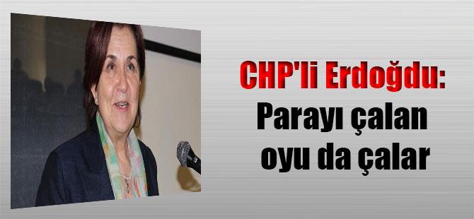 CHP'li Erdoğdu: Parayı çalan oyu da çalar