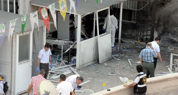 HDP Genel Merkezi'ne saldırıda şüphelilere 11 yıl hapıs istemi