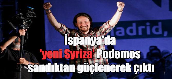 İspanya'da 'yeni Syriza' Podemos sandıktan güçlenerek çıktı