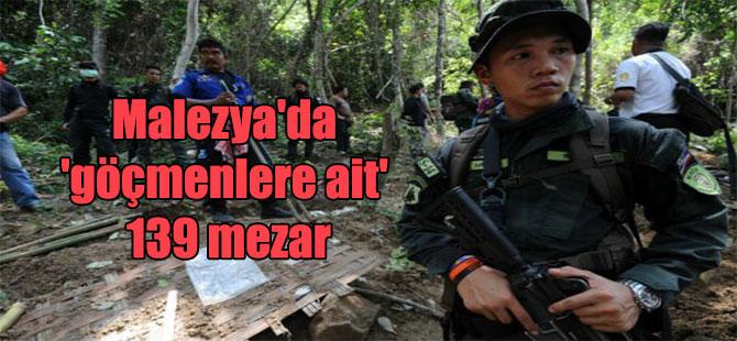 Malezya'da 'göçmenlere ait' 139 mezar