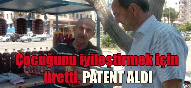 Çocuğunu iyileştirmek için üretti, patent aldı