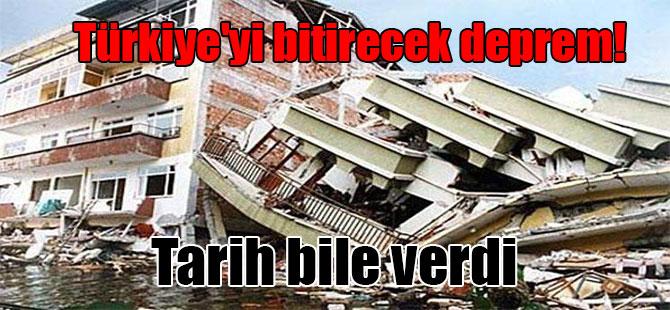 Türkiye'yi bitirecek deprem! Tarih bile verdi