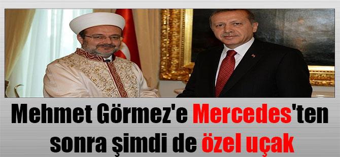 Mehmet Görmez'e Mercedes'ten sonra şimdi de özel uçak