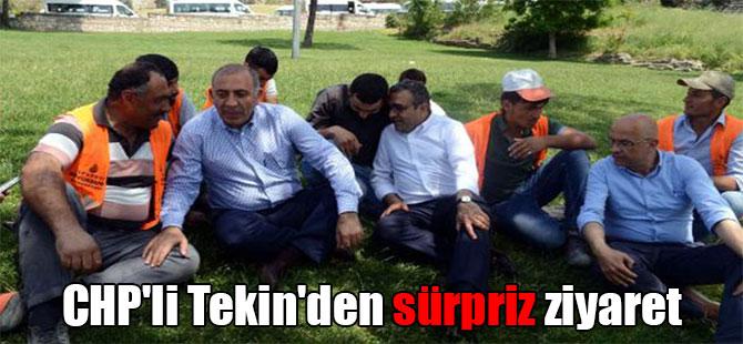 CHP'li Tekin'den sürpriz ziyaret