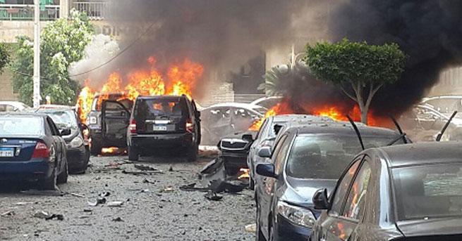 Mısır Başsavcısına bombalı saldırı..