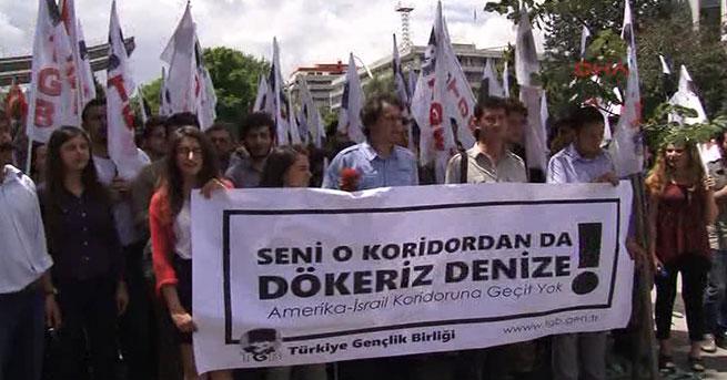 TGB'liler, ABD Büyükelçiliği'ne yürüdü
