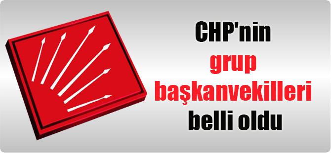 CHP'nin grup başkanvekilleri belli oldu