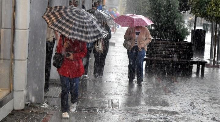 Meteorolojiden sağanak yağış için son dakika uyarısı