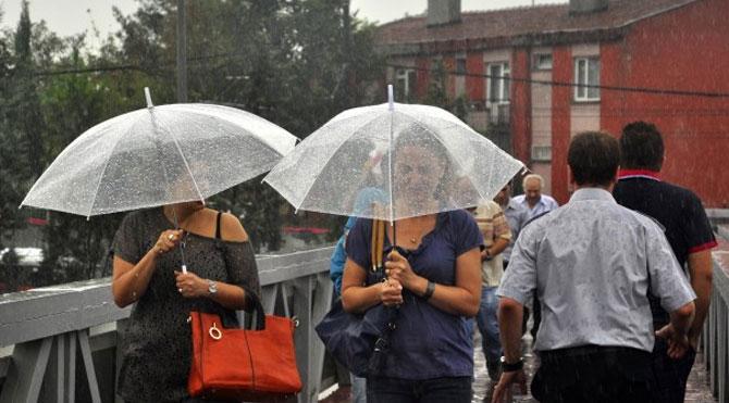 Hafta sonuna dikkat! Birçok ile yağmur uyarısı…