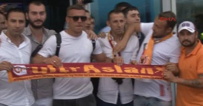 Yıldız futbolcu İstanbul'da
