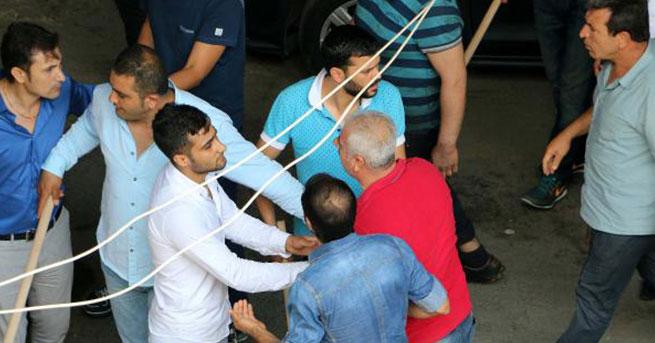 Büyük İstanbul Otogarı'nda sopalı kavga