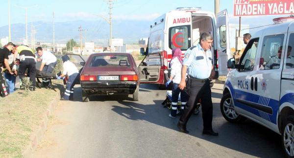 Yayaya çarpan sürücü kalp krizinden öldü
