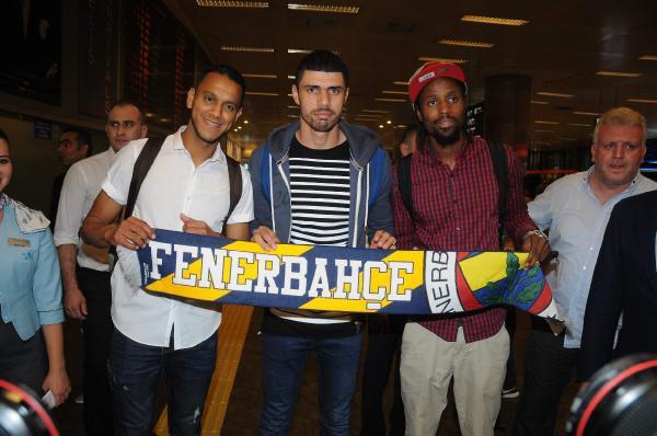 Fenerbahçe'nin yeni transferleri İstanbul'da