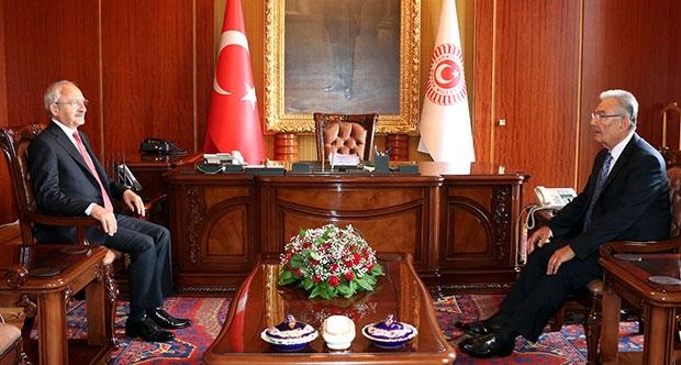 Kılıçdaroğlu-Baykal görüşmesi sona erdi