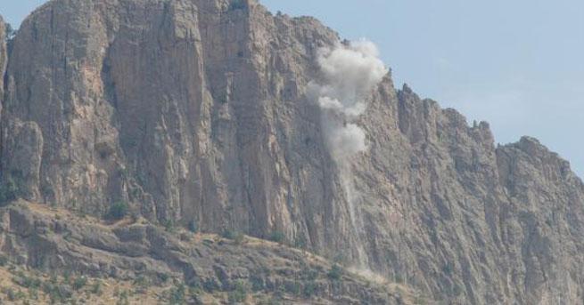 PKK'dan jandarma bölüğüne havanlı saldırı