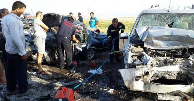 Kayseri'de feci kaza: 5 ölü