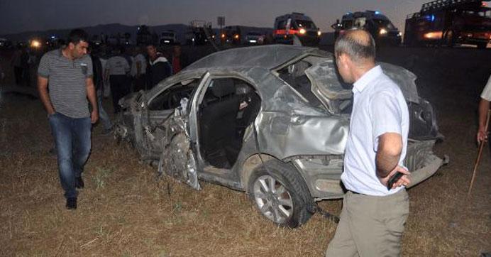 Muş'taki kazada 2 asker hayatını kaybetti